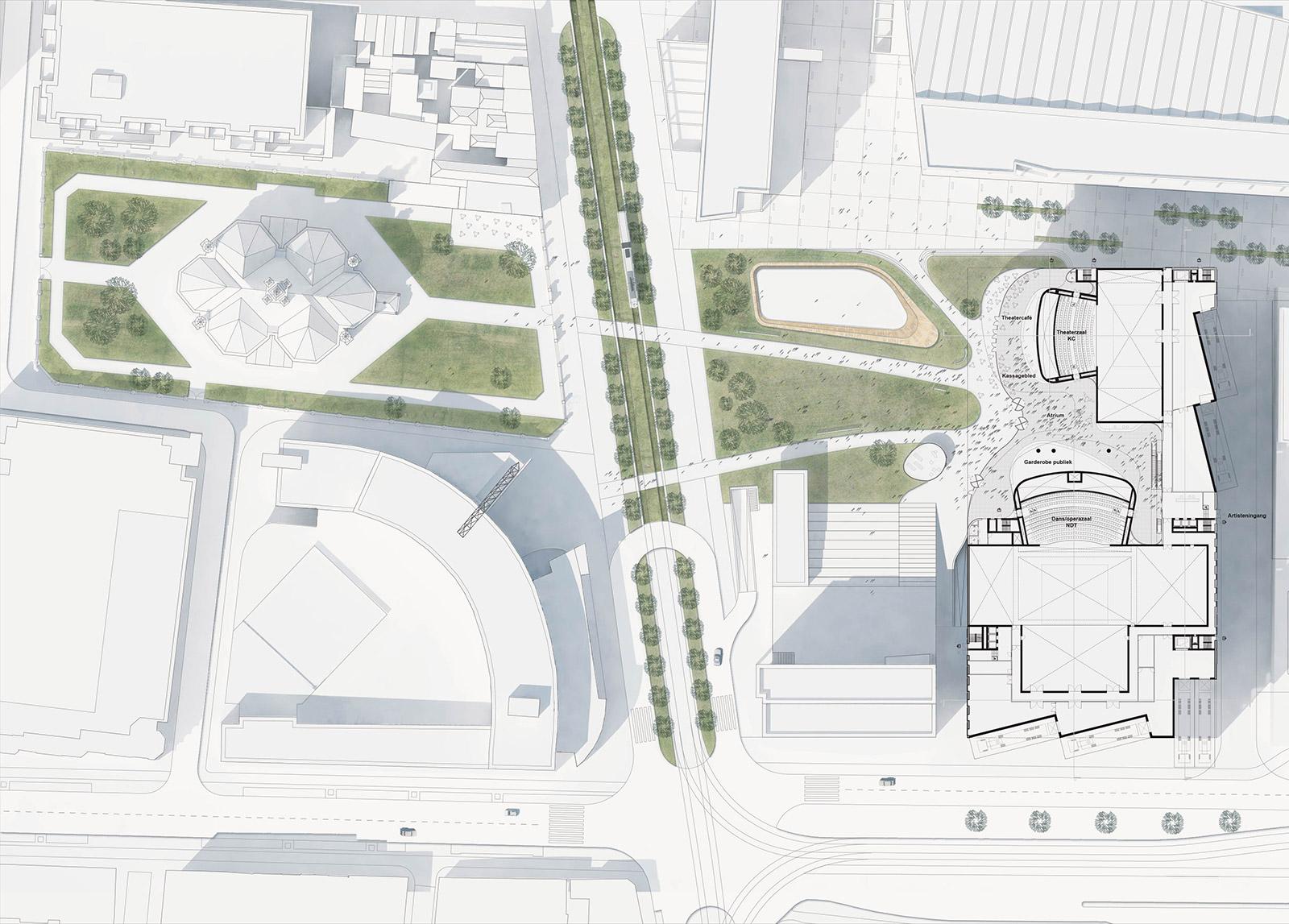 DMC The Hague - Map