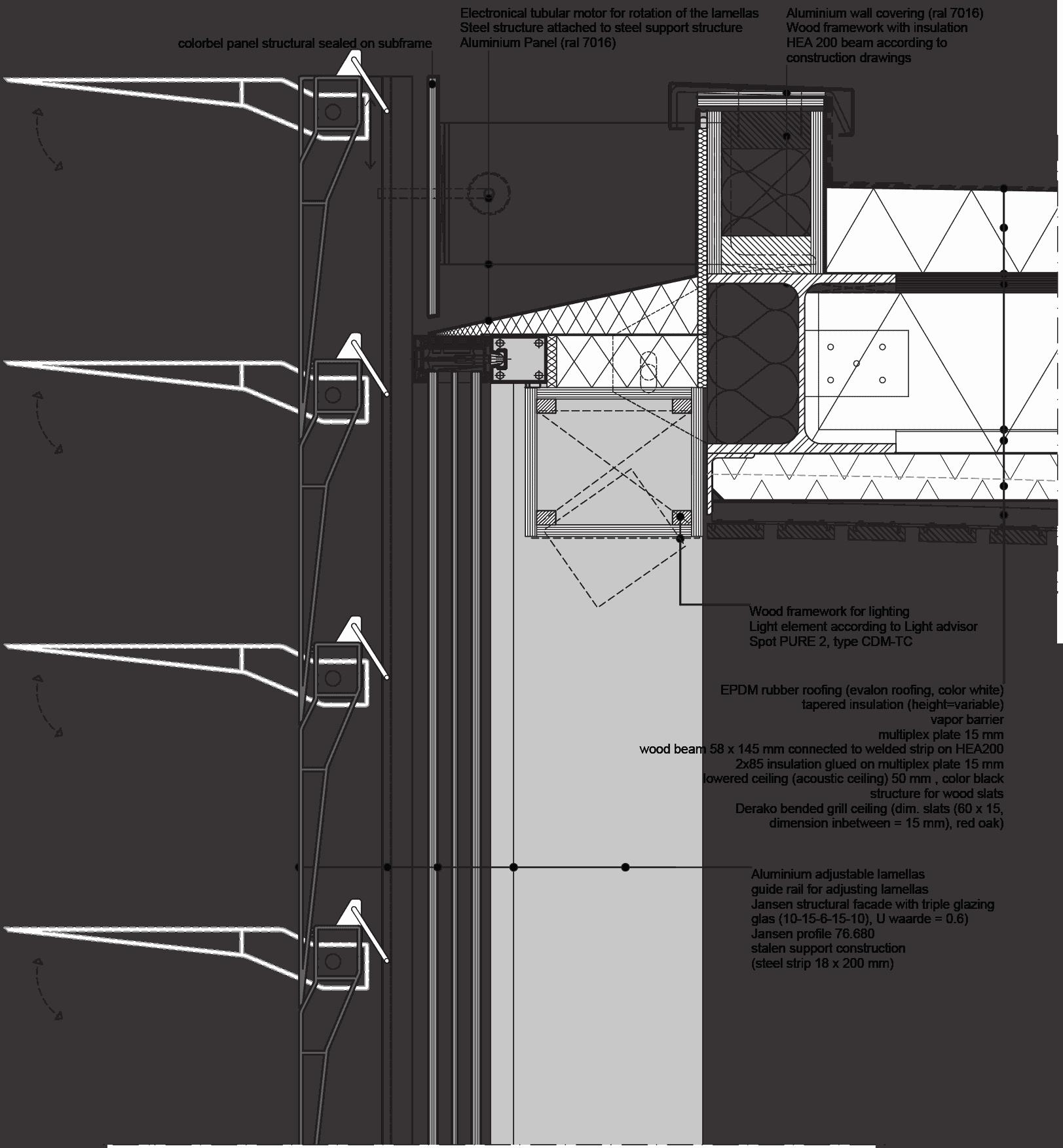 Erasmus Pavilion - Blueprint