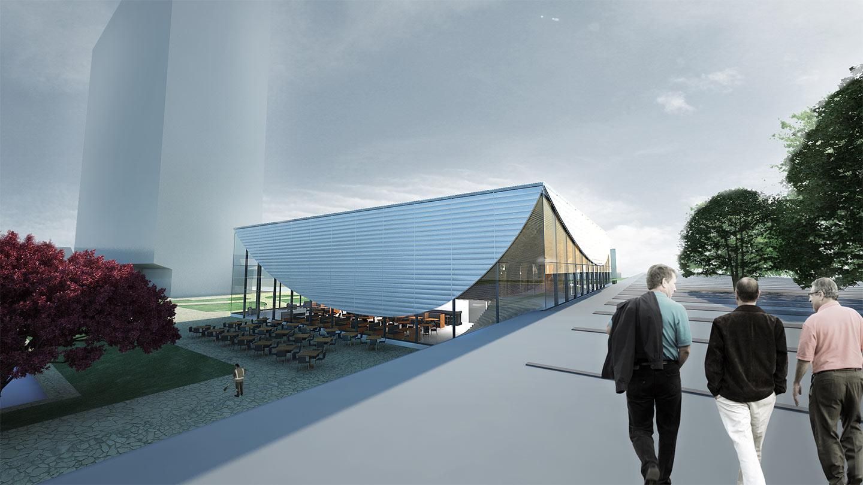 Erasmus Pavilion - Lamellas