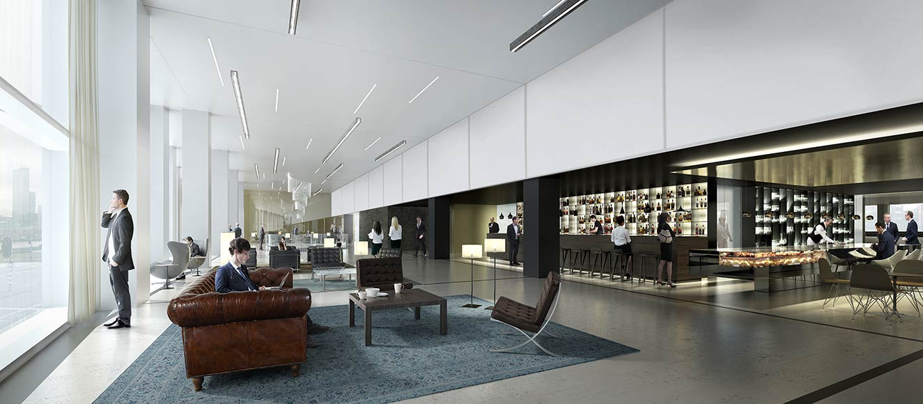 Office building interior lobby images for Interieur den haag