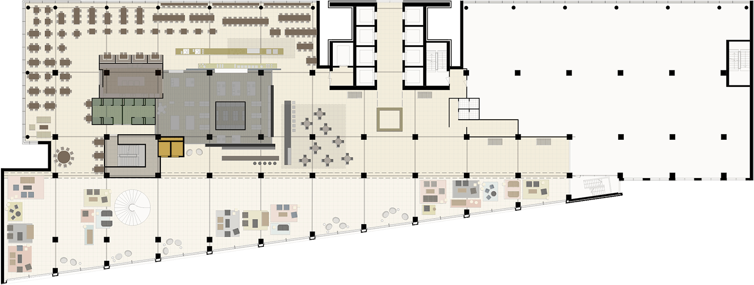 WW Office Building floor plan
