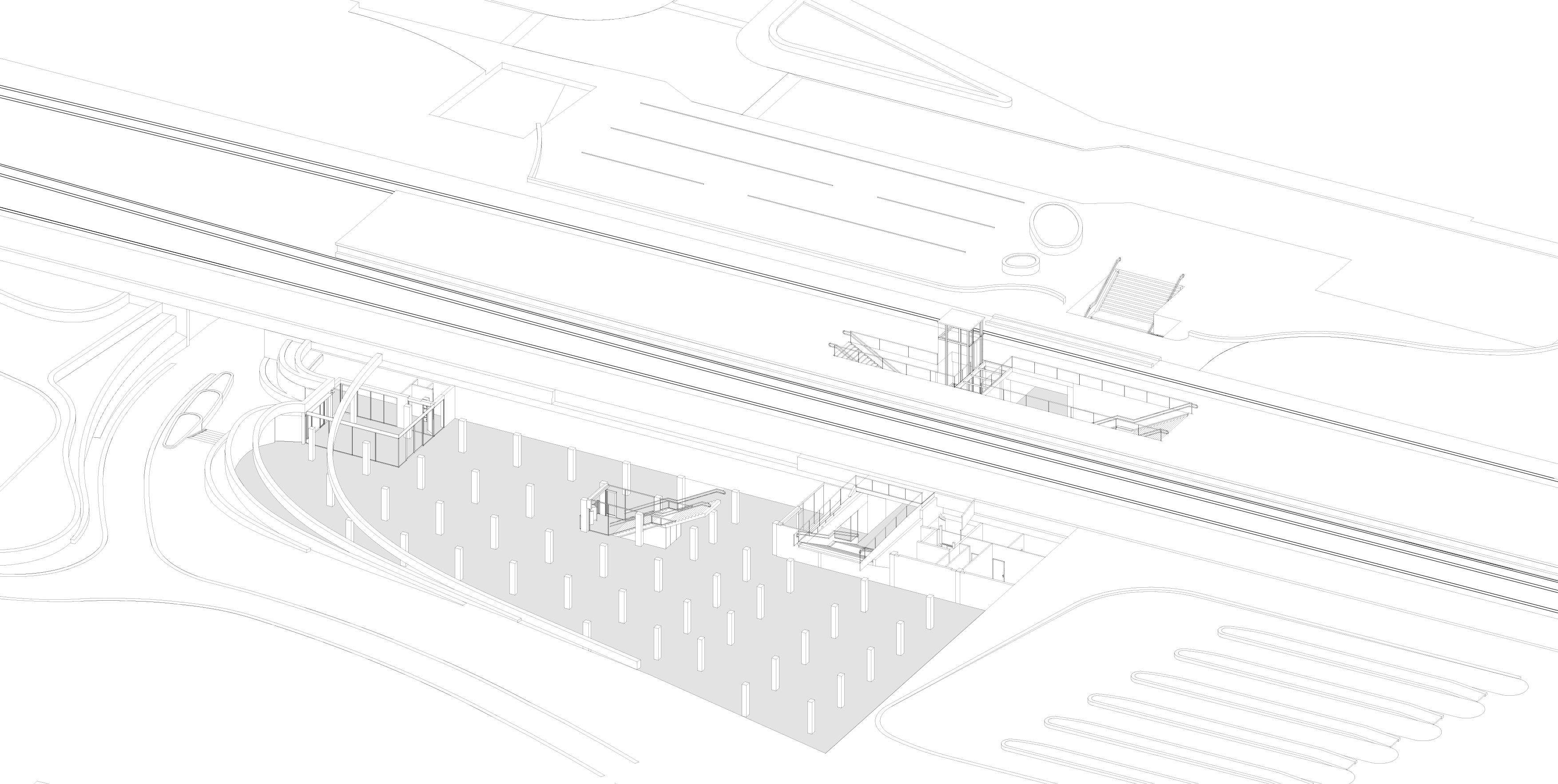 Assen Station - Exploded View